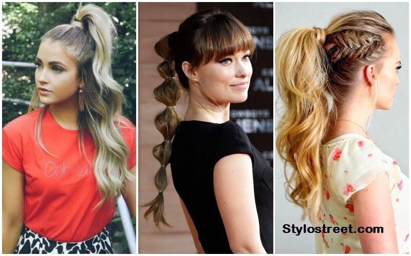 Ponytail Hairstyles 2018 19 For Girls Get A Perfect Summer Hairstyle