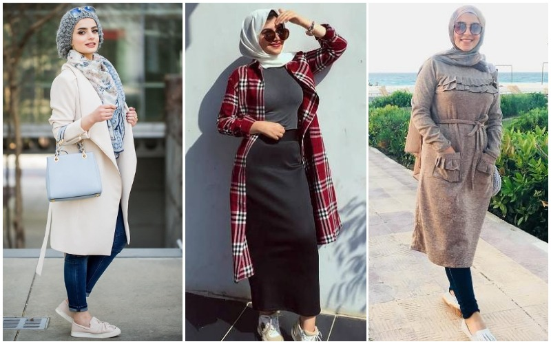 New Hijab Styles For Ladies To Get Warm And Chic Look Stylostreet