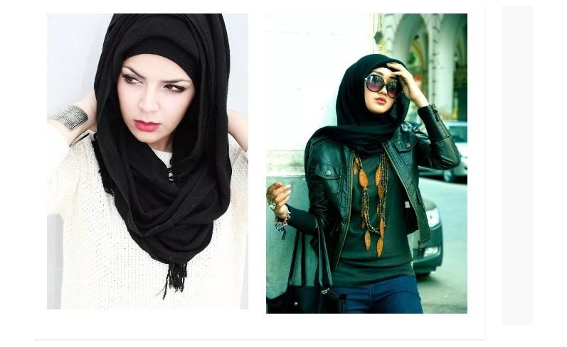 32f9e334dad8 New Abaya   Hijab style Fashion in 2019 for Girls