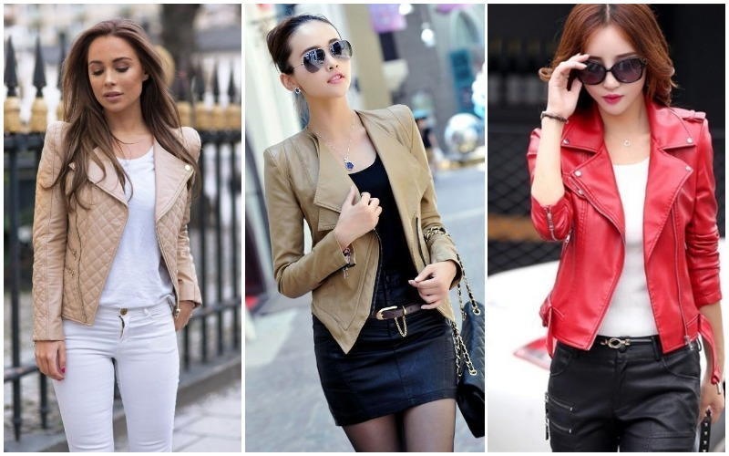 22 Stylish Leather Jackets For Women 2019 Ideas Stylostreet