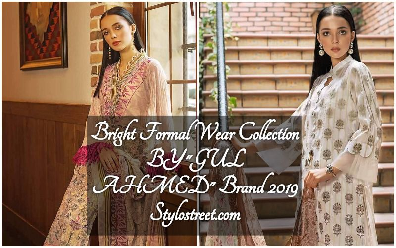7c7b151e22 Gul Ahmed Formal Bright Winter Unstitched Collection 2019 | Stylostreet