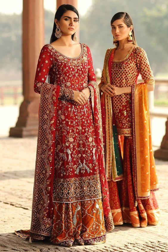 Latest Barat Dresses