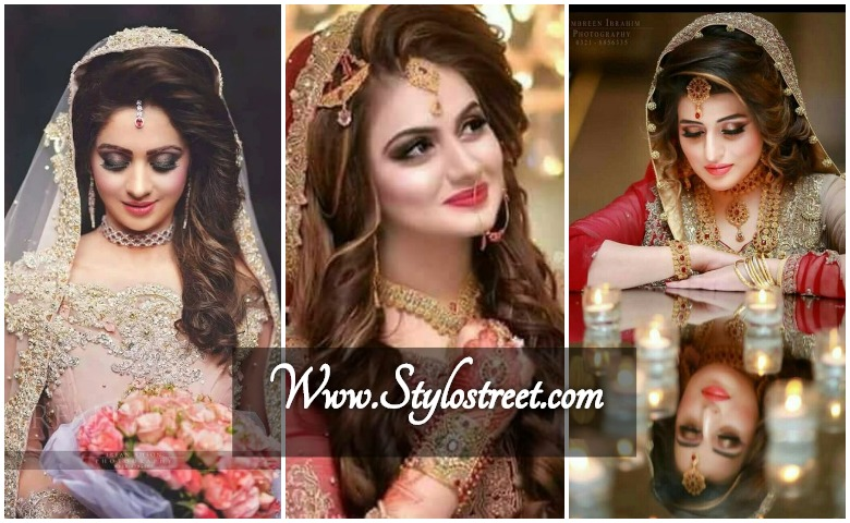 Pakistani New Bridal Hairstyles For All Type Of Hair
