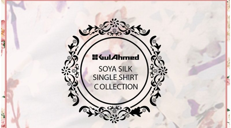 Gul Ahmed silk collection 2021
