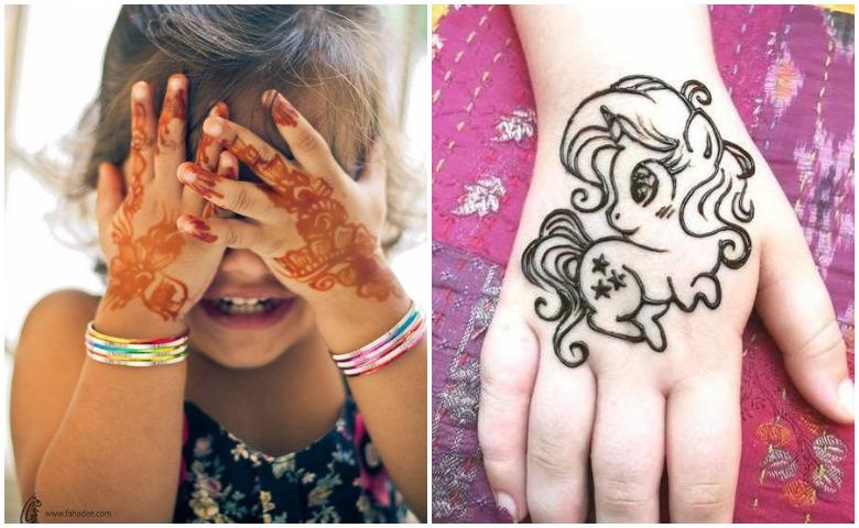mehndi design 2021 for kids