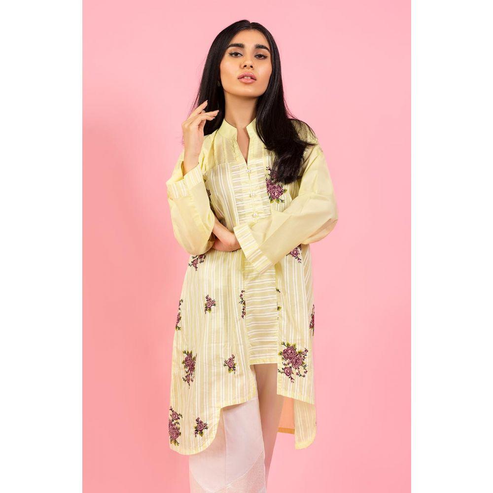 Gul Ahmed Light Brown Dress