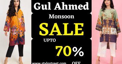 Gul Ahmed Monsoon SALE