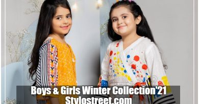 New Boys & Girls Winter Collection by Junaid Jamshed Brand 2021