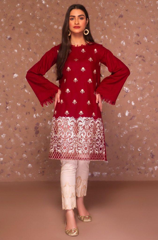 Trending Red Winter Dress