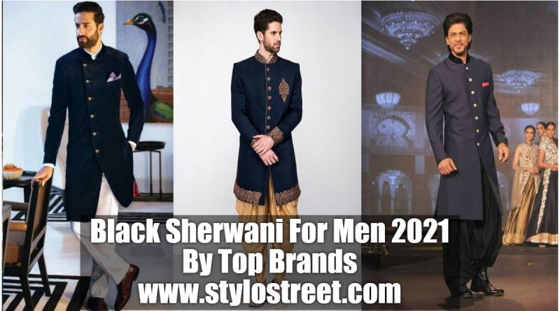 Black Sherwani For Groom Pakistan