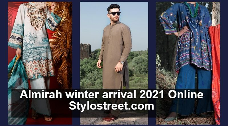 New Arrival Almirah Winter Dresses 2021 Collection's