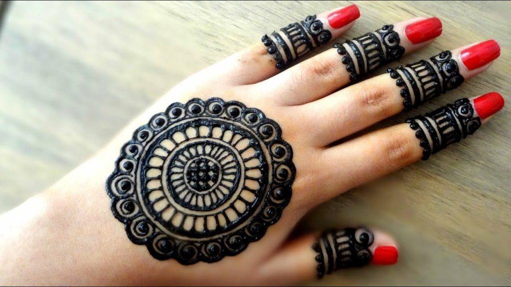 Mehndi Designs Tiki Palm