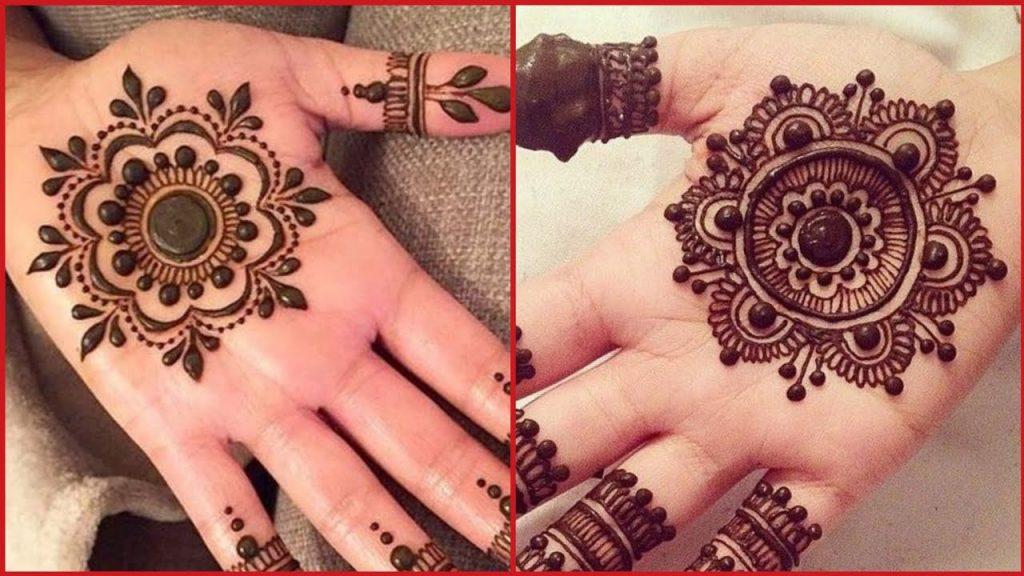 Both Hands Mehndi Designs Tiki