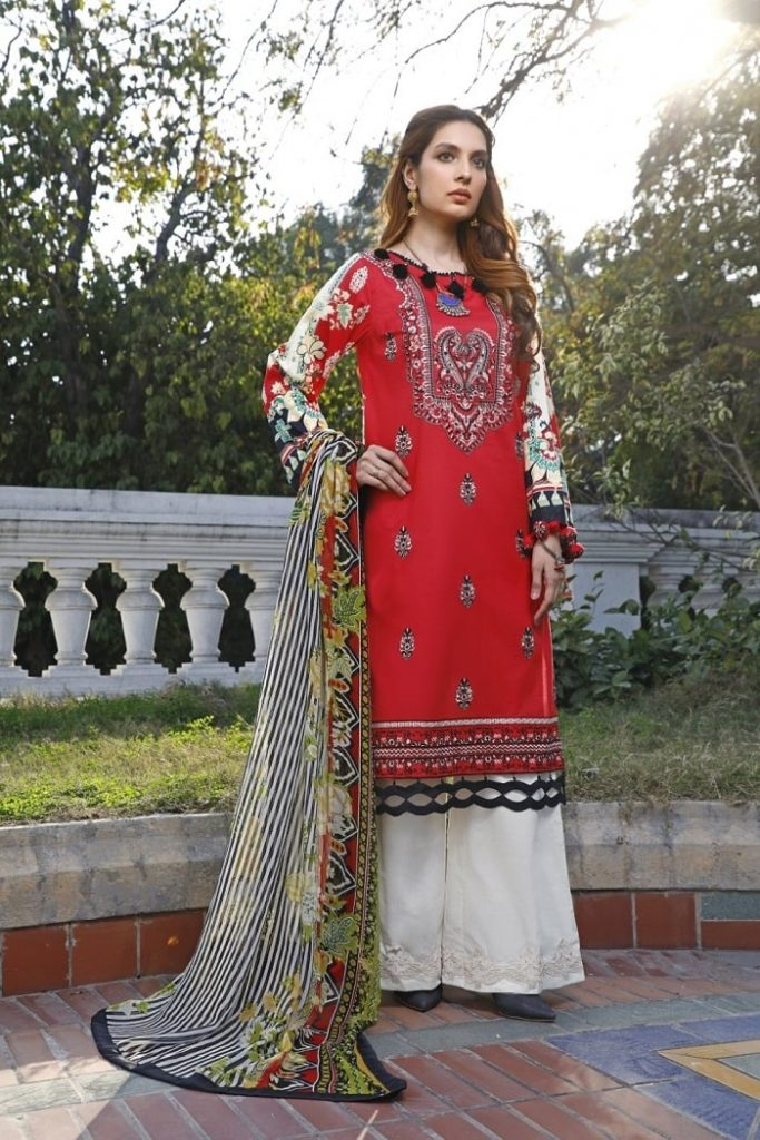 Ittehad Lawn Collection 2021