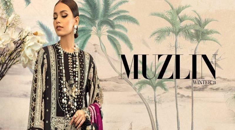 Muzlin Winter Shawl'21