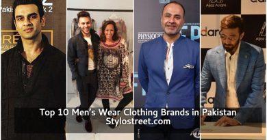 top 10 Men's wear Clothing Brands in Pakistan 2021-2022
