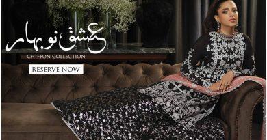 Asim Jofa Luxury Chiffon